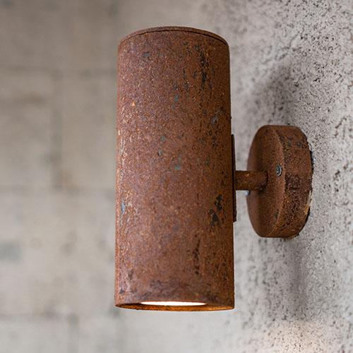 Rusty Fundi Lamps