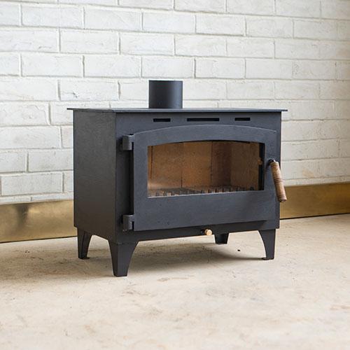 Contemporary woodburner rusty fundi